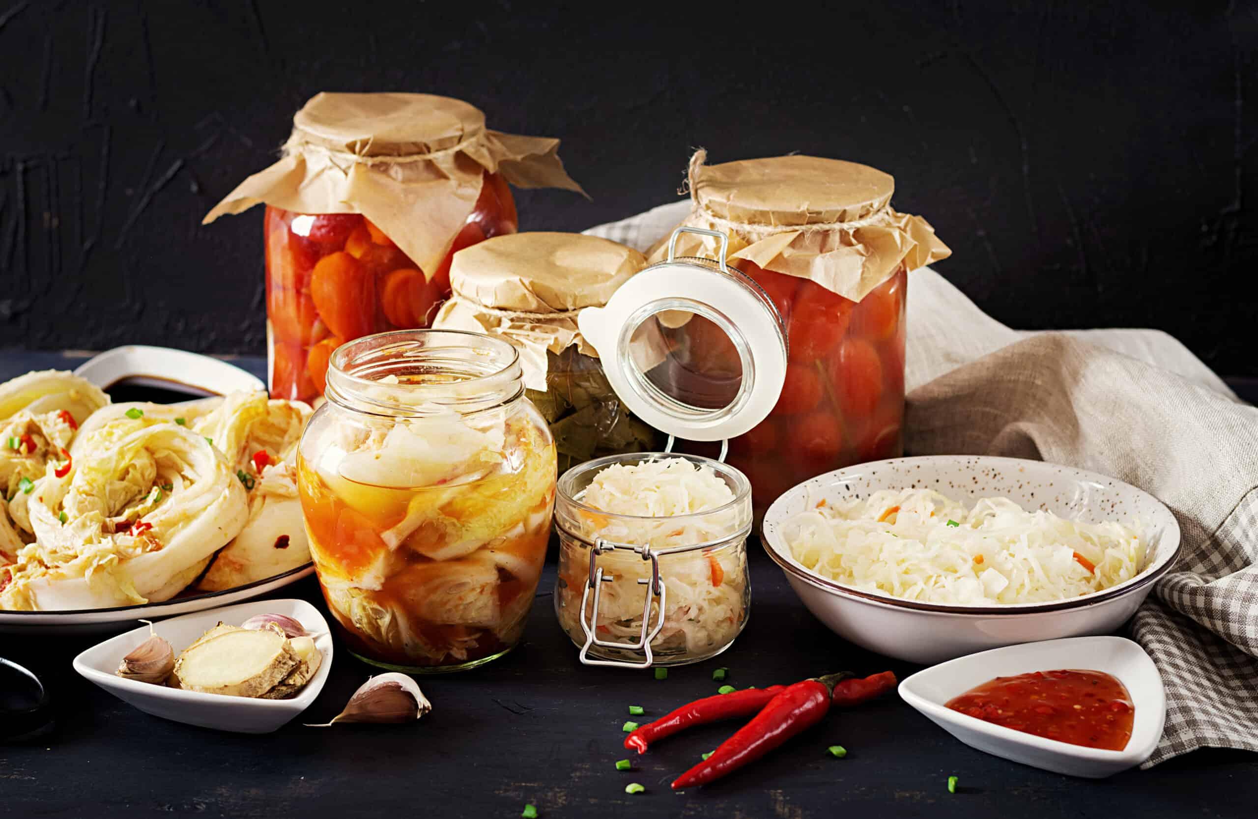 Encurtidos y fermentados naturales